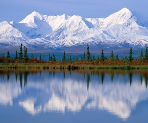 beautiful, ice, and mountains image