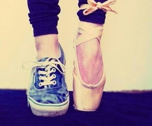 ballet, dance, and vans image
