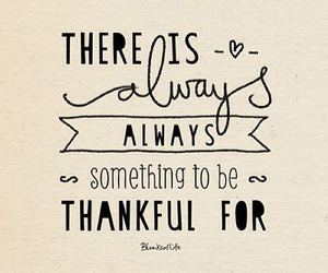 quote, always, and thankful image