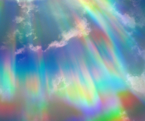 sky, rainbow, and colors image