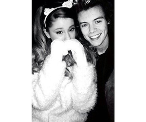 ariana grande and Harry Styles image