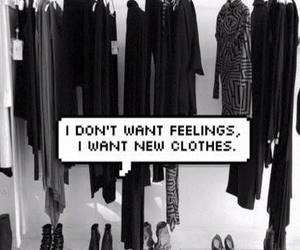 black, clothes, and feeling image