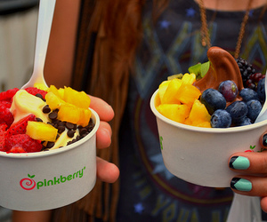fruit, food, and pinkberry image