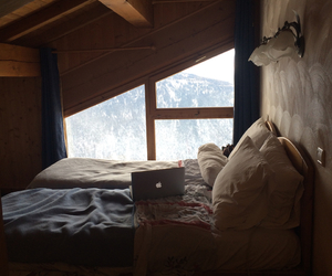 bedroom, holidays, and home image