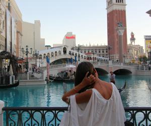 gondola, usa, and Las Vegas image