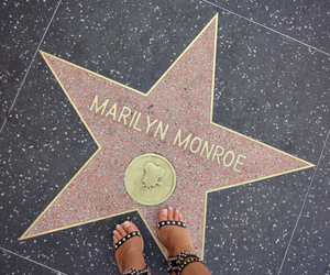 Marilyn Monroe and star image