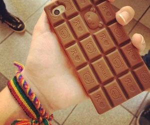 chocolate, iphone, and case image