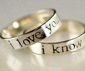 love, rings, and ring image