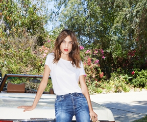 jeans, alexa chung, and denim image