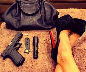 gun and heels image