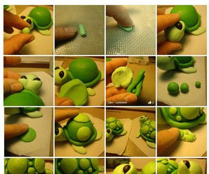 turtle, tutorial, and fimo image