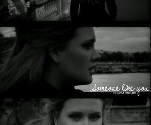 Adele, b&w, and girl image