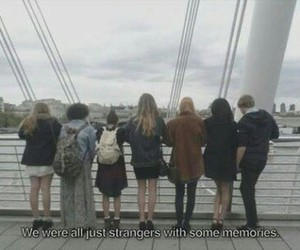 grunge, strangers, and memories image