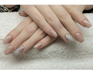 beauty, gel, and nails image
