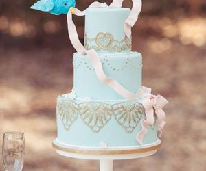 cake, wedding, and cinderella image