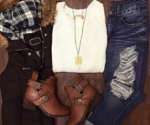 boots, inspiration, and crop top image