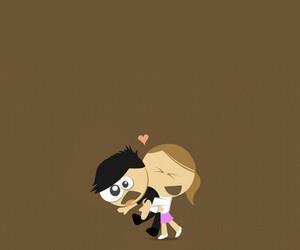 hug and funny image