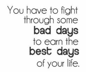 quotes, life, and fight image