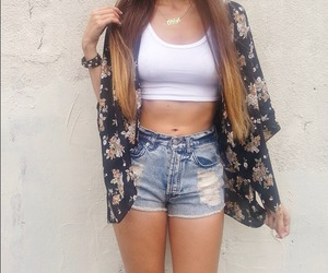 brandy melville, outfit, and crop top image