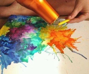diy, art, and colors image