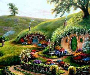 the shire, perfect, and hobbits image