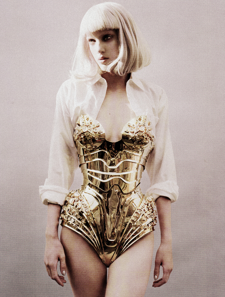 candy, gold, and model image
