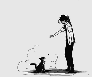 ao no exorcist, anime monochrome, and anime monochomo image