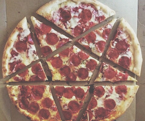 pizza, food, and stars image