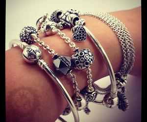 besties, bracelets, and charms image