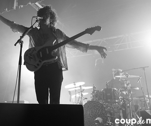 the 1975, guitar, and music image
