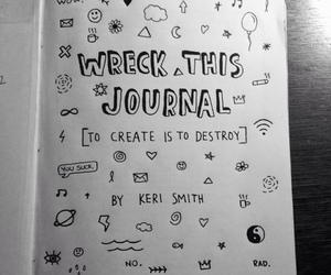 wreck this journal and doodle image