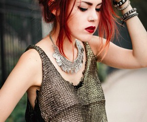 luanna perez, red hair, and style image
