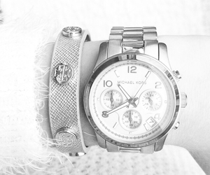 bracelet, hand, and watch image