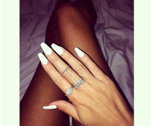 manicure, nails, and luxury image
