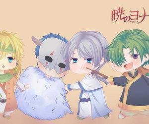zeno, akatsuki no yona, and shin-ah image