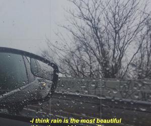 rain, grunge, and sad image