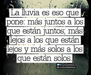 lluvia and frases image