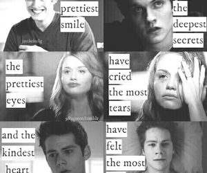 teen wolf, lydia, and pain image