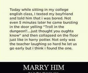 harry potter, funny, and marry image