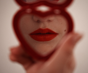girl, heart, and tyler shields image