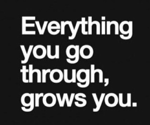 quote, grow, and life image