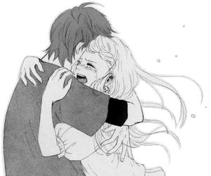 cry, manga, and love image