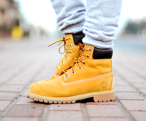 fashion and timberland image