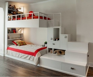 bunk beds for sale, full size loft bed, and space saving bunk beds image