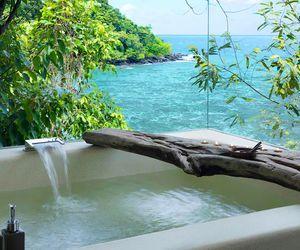 bath, beach, and summer image