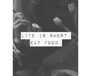 food, eat, and quote image