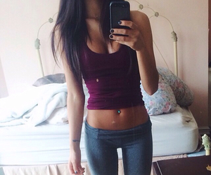skinny, workout, and fitspo image