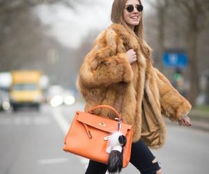 berlin, fashion, and fur coat image