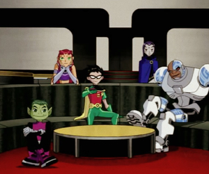 cyborg, family, and raven image
