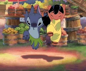 lilo and stitch, disney, and dance image